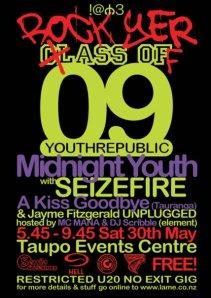 Rock Yer clASS OFf 09 YOUTHREPUBLIC