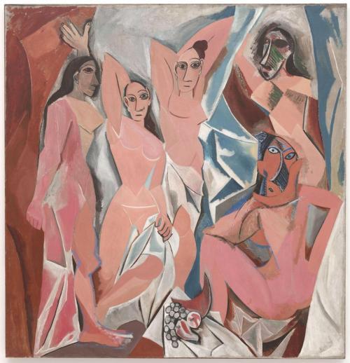 Les-demoiselles-davignon-pablo-picasso-1907
